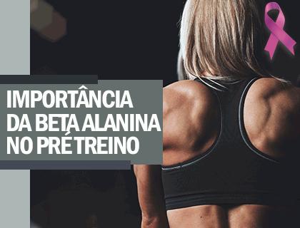 Importância do Beta alanina no pré treino