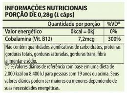 Vitamina B12 Vegan 280mg (60 caps)